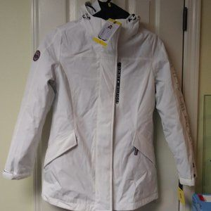 Tommy Hilfiger 3 in 1 Hooded Jacket White New